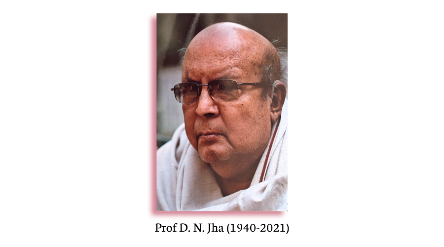 LeftWord Books salutes the memory of Prof DN Jha